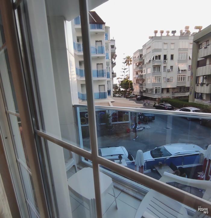 Вид из номера отеля Cleopatra Alanya