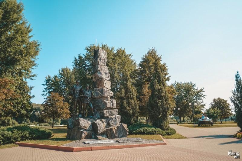 Военный памятник в Светлогорске