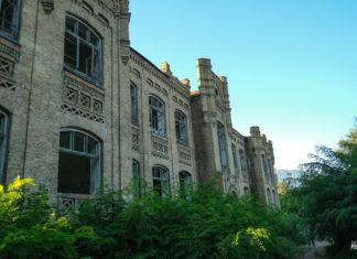 Заброшенная больница в Мозыре, особняк 20 века в стиле модерн