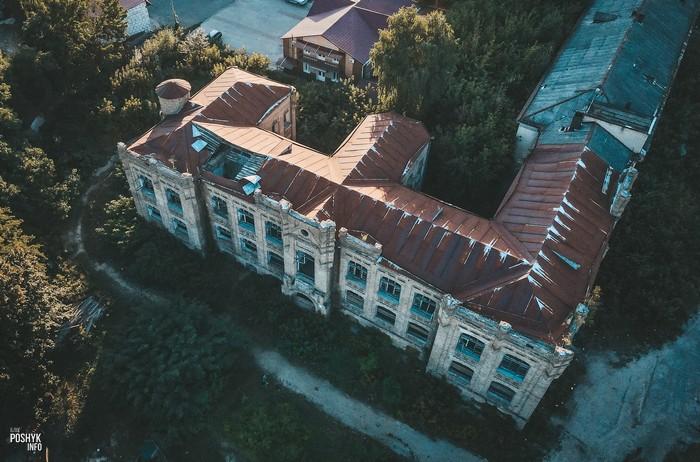 Заброшенная больница в Мозыре