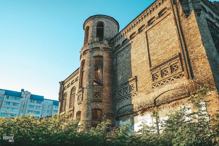 Заброшенное здание в Мозыре