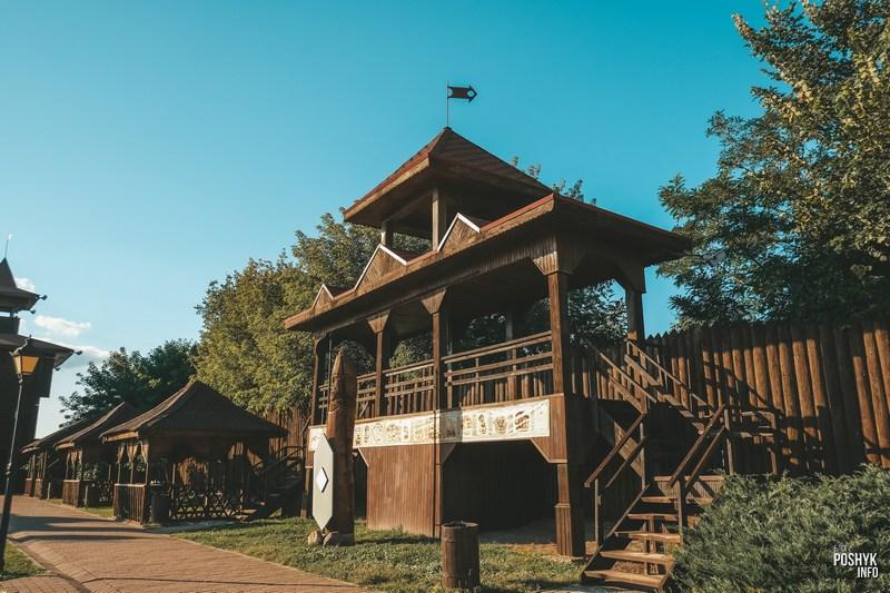 Замчище и городище в Мозыре