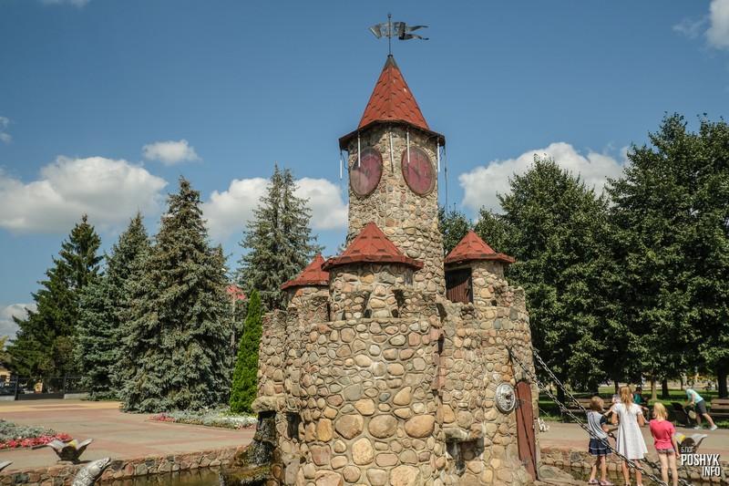 Замок в Речице