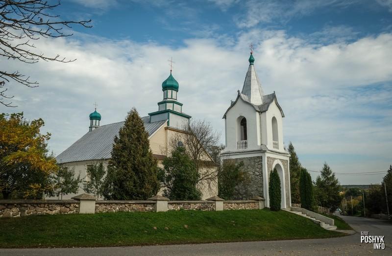 Церковь святого Михаила Архангела в поселке Вселюб