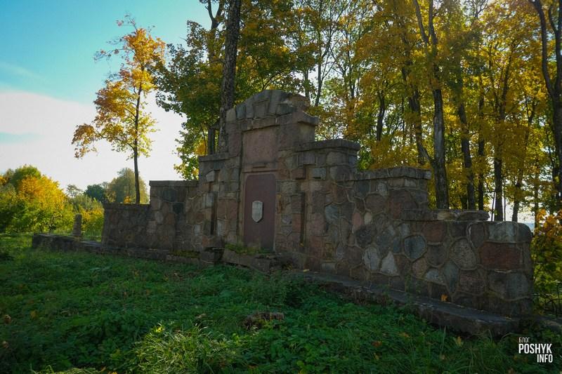 Мемориальная стена немецким солдатам в Новогрудке