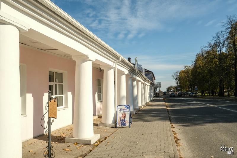 Достопримечательности Беларуси торговые ряды в Новогрудке