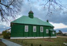 Церковь в деревне Островки