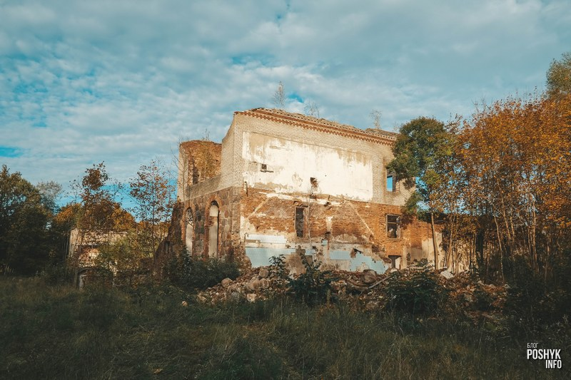 Руины бровара в Вересково