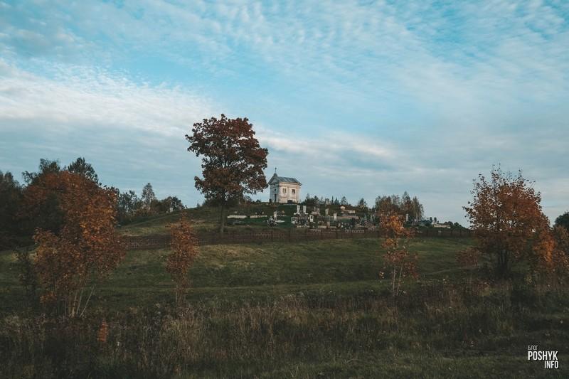 Часовня-усыпальница Абламовичей в деревне Слободка