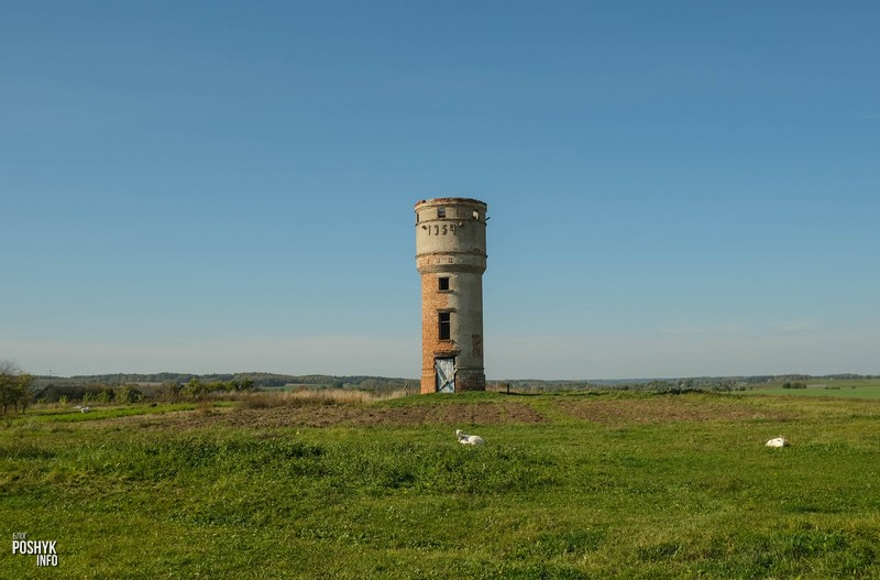 Водонапорная башня в Кореличах